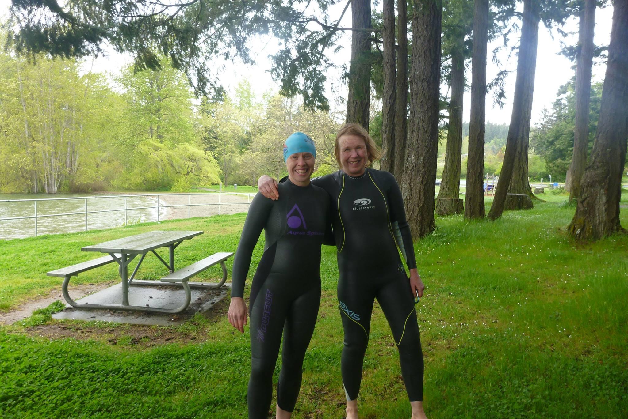 swim at elk lake april 24