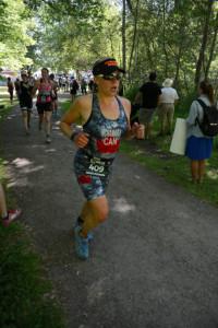 run in woods