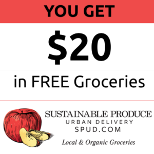 spud ad free groceries